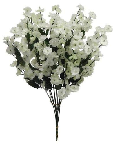 Amazon.com: 12 piezas de centro de flores de seda para el ...