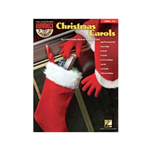 Hal Leonard Christmas Carols-Harmonica Play-Along Volume 11 (Book and CD)