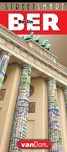 StreetSmart® Berlin Map by VanDam -- Laminated City Center Street Map of Berlin, Germany- Folding pocket size city guide with all sights, museums, ... English & German (English and German Edition)