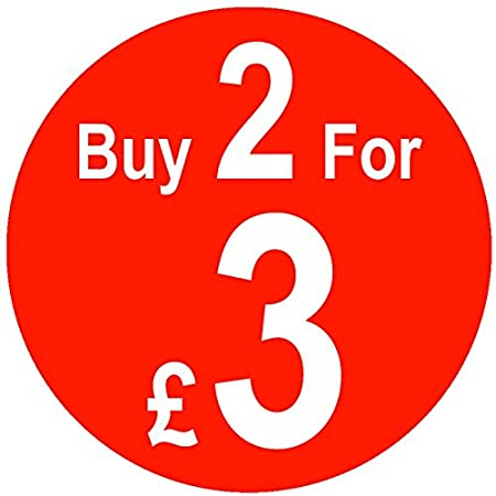 500 Price Stickers Buy 2 For /£3-25mm