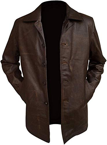 Supernatural Dean Winchester Jacket - Distressed Real Leather (XXL)