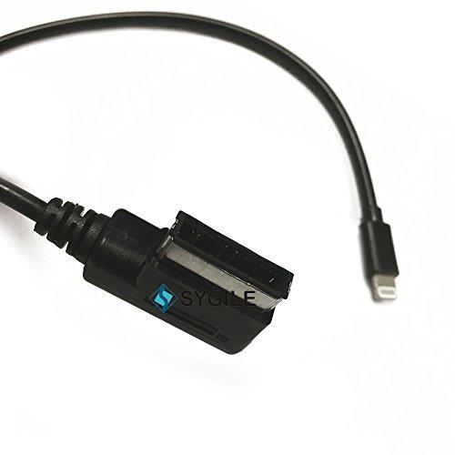 Sygile ami MDI MMI Musique Interface audio MP3Câble adaptateur vers 8broches Connecteur de charge pour iPad iPhone 55s 66S 6P 6S Plus pour Mercedes Benz Cars durable service