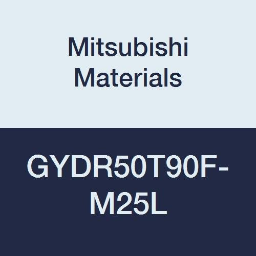 Mitsubishi Materials GYDR50T90F-M25L GY Series Modular Type Internal Grooving Holder with Left Hand M25 Modular Blade, Right Hand, 90° Angle, 80 mm Neck, 50 mm Height, 50 mm Width, 300 mm Length by Mitsubishi Materials