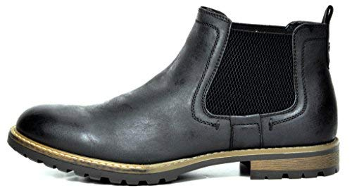 Bruno Marc Mens Casual Chelsea Ankle Boots