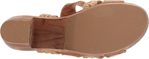 Bed | Stu Womens Crystal Tan Rustiek / Bone Rustiek Leer