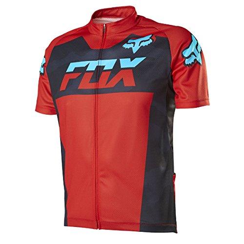 Fox Head Men's Livewire Race Mako Short Sleeve Jersey, Black Camo, Large