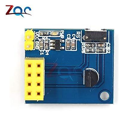Esp8266 esp-01s Serial ds18b20 Capteur de température Adaptateur Wireless WIFI BOARD