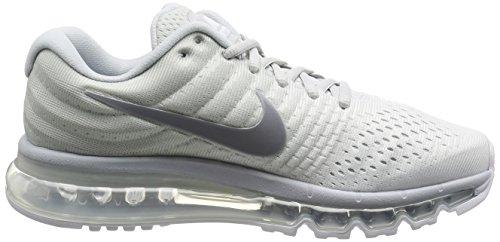 Mens Nike Air Max 2017 Running Shoes Pure Platinum 849559-009 Pure Platinum/Wolf Grey/White/Off White T2TKHDPBqw