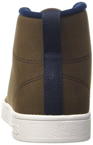 adidas Herren Advantagecl Mid WTR Fitnessschuhe Braun (Dark Brown/collegiate Navy)