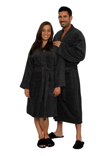 TowelRobes Cotton Kimono Unisex Bathrobe product image