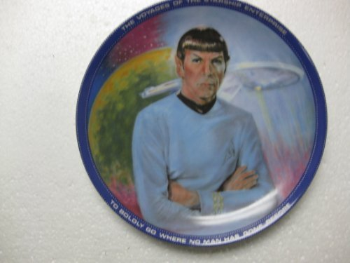- Ernst Enterprises-First Ever Star Trek Plate Collection by Susie Morton On Star Date 0284.15-Mr.Spock