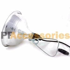 "4 Pcs Heavy Duty 8-1/2"" Aluminum Reflector Shade Clamp on Work Light Lamp ETL"