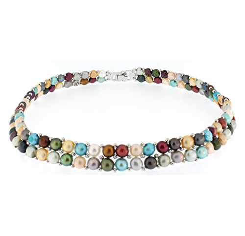 DAMA Freshwater Cultured Necklace Stainless
