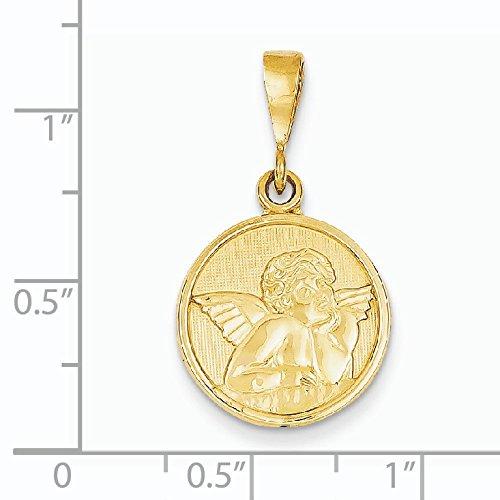 Pendentif Ange 14 carats-Dimensions :  15 x 15 mm-JewelryWeb