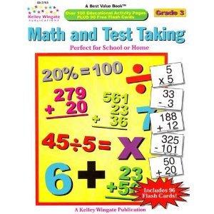 Math and Test Taking Grade 3 (CD-3753) - Pedigo Cds