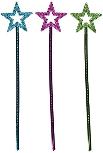Metallic Star Wands (1 Dz) (1, 14.5) (Wands)