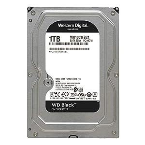 Western Digital 1 TB SATA III 7200 RPM 64 MB Cache Bulk/OEM Desktop Hard Drive, Black