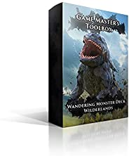 Dungeons and Dragons 5th Edition Deck of Cards – Wandering Monsters Deck: Wilderlands by Nord Games – 52 Cards