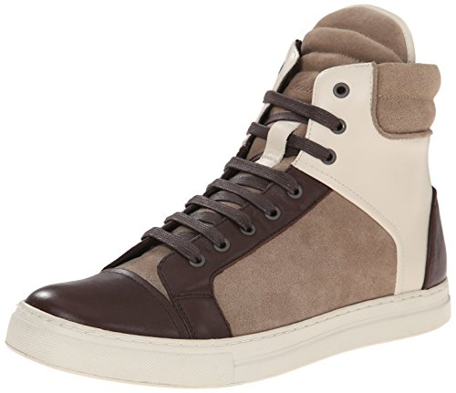 Kenneth Cole New York Men's Double Header LW Fashion Sneaker, Taupe/Ivory, 11 M US