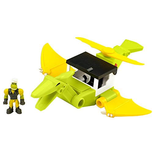 Educational Insights Dino Construction Company Rescue Crew-Cyclone the Pteranodon Helicopter