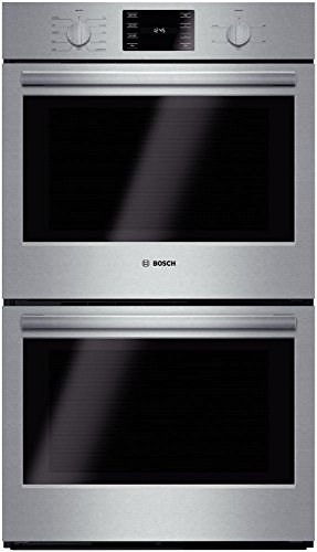 Bosch++HBL5651UC:++30++Double++Wall++Oven++500++Series++-++Stainless++Steel