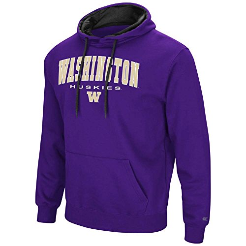 Colosseum Washington Huskies Zone III Hoodie - Purple - Arch - Men - ()