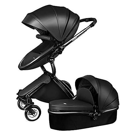 kid1st 2 in1 Lujo transporte Combo de cuna y cochecito de bebé cochecito de alta vista
