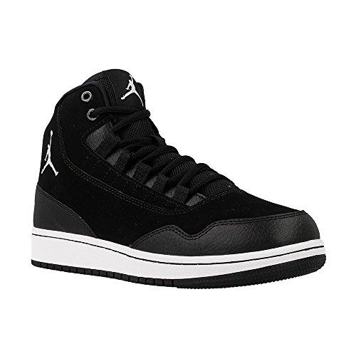 Nike Jordan Executive Bg, Zapatillas de Baloncesto para Niños Negro (Black / White-White)