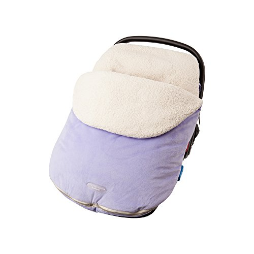 purple baby car seat covers - 4