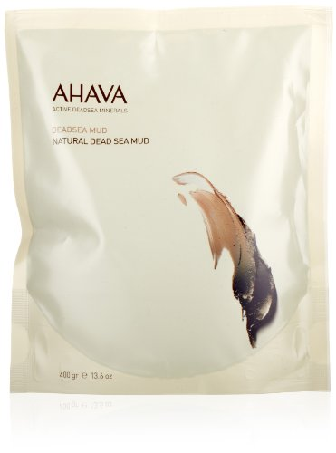 AHAVA Natural Dead Sea Body Mud, 13.6 fl. (Dead Sea Body Mud)