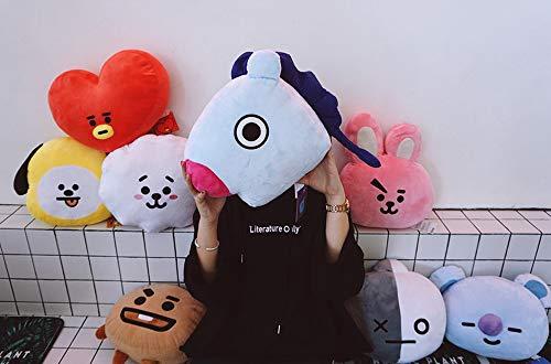 Lerion BTS Pillow Doll Plush Small Plush Puppets Toy Bangtan Boys Throw Pillow Cushion,11.8 Inches (Tata)