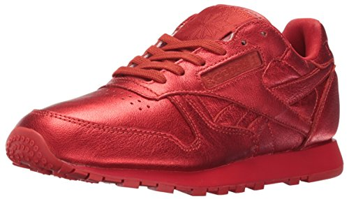 Reebok Womens Cl Lthr Face Fashion Sneaker Colpisce / Meraviglia
