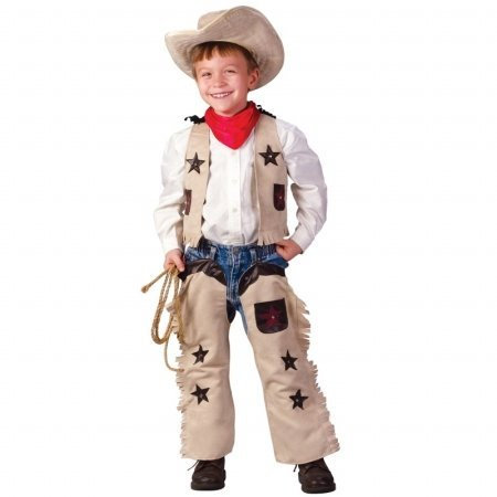 Li'l Sheriff Toddler Costume - Toddler Small - Toddler Lil Cowboy Costumes