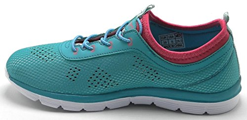 DEV Womens Tennis Training Light Weight Mesh Sport Running Shoes S Blue-2801 Dn9HZpqpy