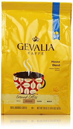 Gevalia House Blend Ground Coffee, 20 Ounce