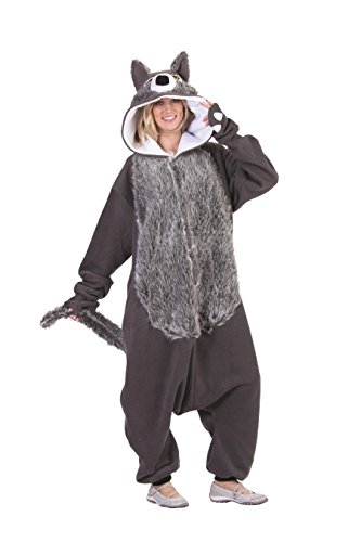 RG Costumes Willie The Wolf, Gray, One Size (Cool Wolf Costume)