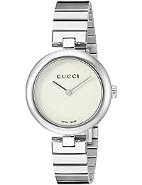 Swiss Quartz Stainless Steel Dress Silver-Toned Women's Watch(Model: YA141402)