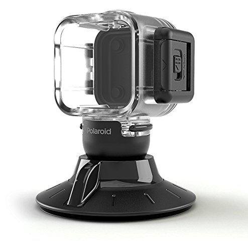 Polaroid Suction Cup Mount For Polaroid Cube, Cube+ Camera POLC3WSM