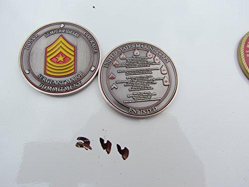 US Marine Corps Semper Fidelis Sergeant Major Challenge ()