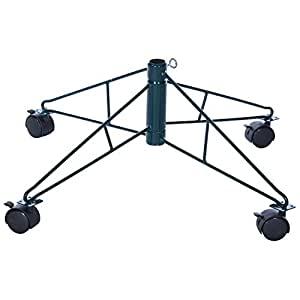 """Amazon.com : Christmas Ltd 29"""" Tree Stand With Wheels For ..."""