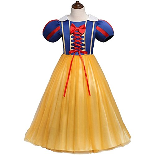 Tsyllyp Baby Girl Snow White Princess Dress Up for Halloween Christmas Costumes ()