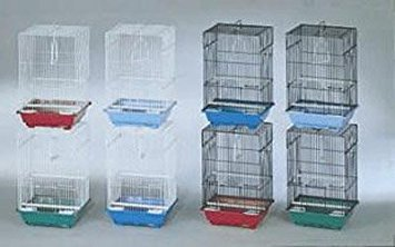 Prevue Pet Products BPVECONO8 8-Pack Parakeet Economy Small Cage, Colors ()