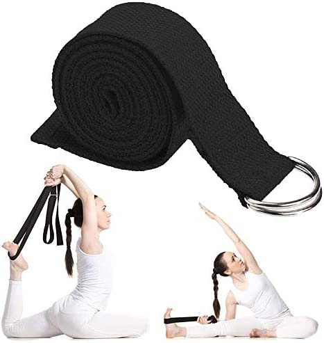 Stretching Adjustable D-Ring Buckle Pilates Stretch Bands 4 PCS GOBANNEY Yoga Strap Physical Therapy Fitness,Yoga