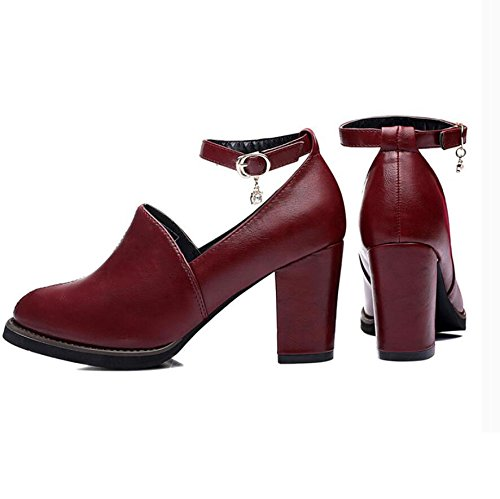 Talons Femmes Koyi De Avec Mode Chaussures Ville Winered Pour La Nouvelles Printemps Corenne fC5wtHqpw