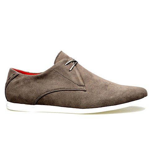 Robelli , Chaussures de ville à lacets pour homme Gris Gris