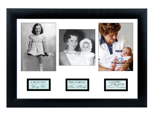 The Grandparent Gift Life Story Frame, Grandma (Personalized Gifts Grandparent)