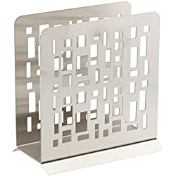 Wedding Gift Boxed Modern Napkin Holder Stainless Steel by HomeWorks