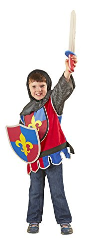 Valiant Knight Childrens Costumes (Melissa & Doug Knight Role Play Costume Set)
