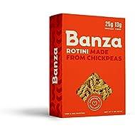 Banza Chickpea Pasta, Rotini (Pack of 6)