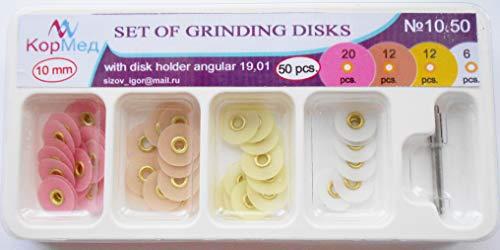 10.50 Dental Finishing Polishing Discs Metal